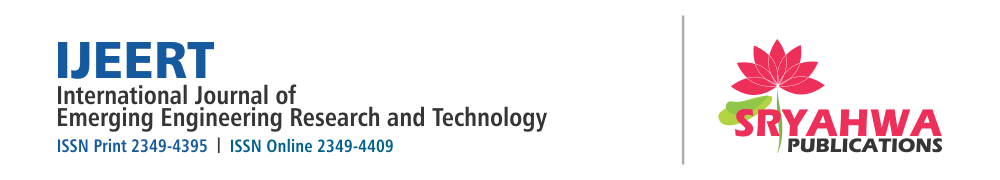 IJEERT-International Journal of Emerging Engineering Research and Technology